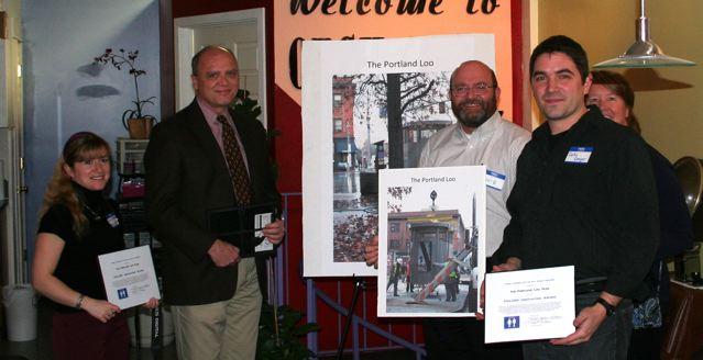 PHLUSH honors Toilet Innovators, Hero and Champion