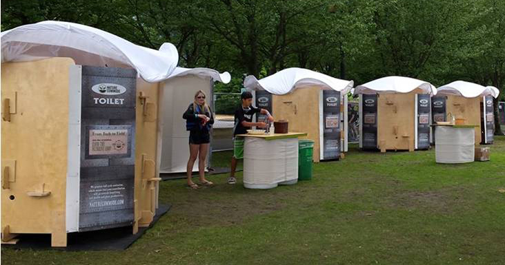 Innovative start-up brings waterless ecological toilets to festivals in the Pacific Northwest