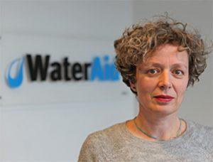 Louisa Gosling of Water Aid